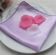 Custom Factory Cheap Polyester Table Napkin For Banquet