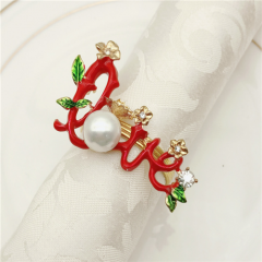 New Arrival Love Napkin Rings For Wedding And Valentine's Day